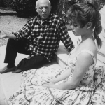 Picasso and Bardot – the artist and the sex kitten