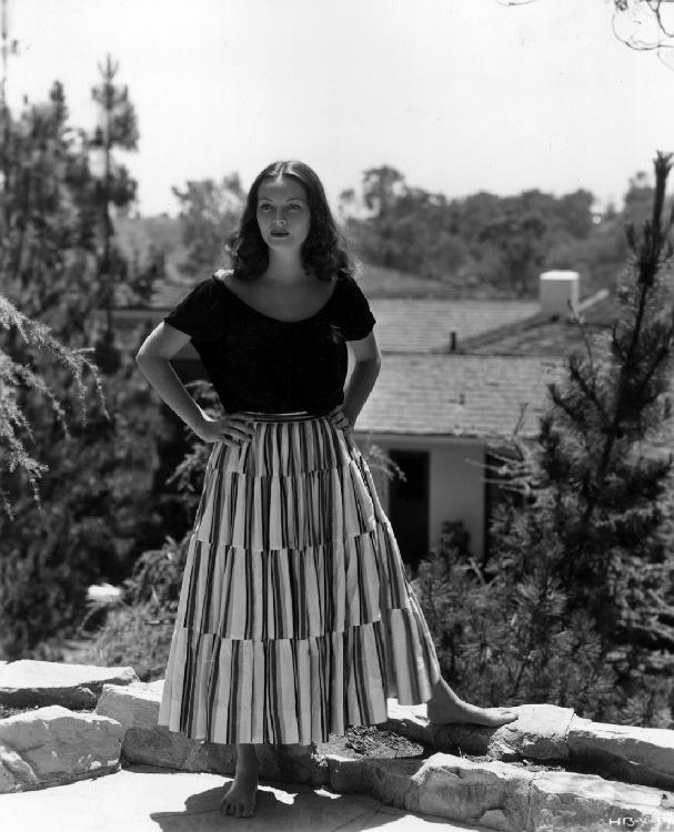 Hazel Brooks, outdoors girl