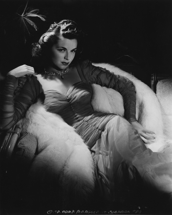 Marguerite Chapman by George Hurrell