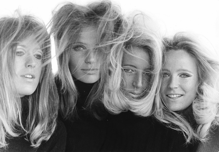 Veruschka and her sisters