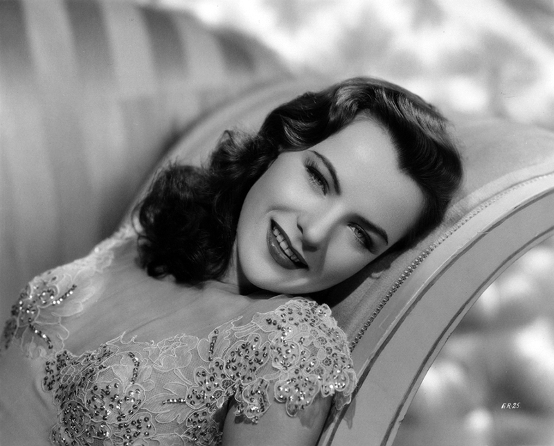 Ella Raines by Ray Jones