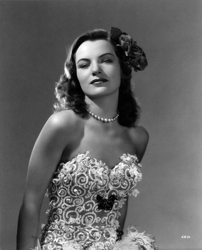 Ella Raines Out Of The Frying Pan And Into The Fire