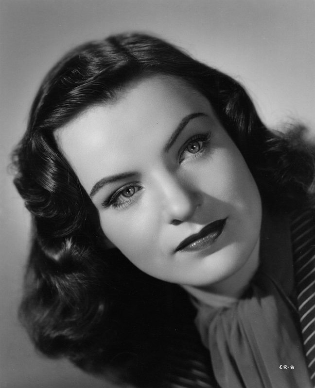 Ella Raines the year she arrived in Hollywood