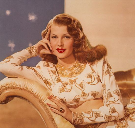 Gilda – a rare colour portrait of Rita Hayworth