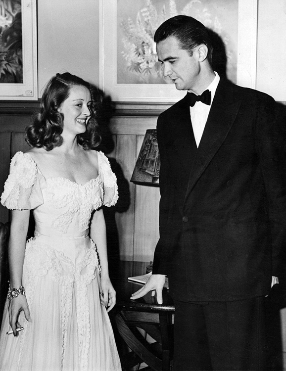 Bette Davis and Howard Hughes