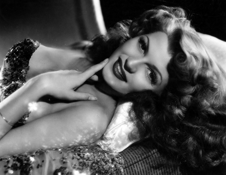 "Rita Hayworth by A L ""Whitey"" Schafer"