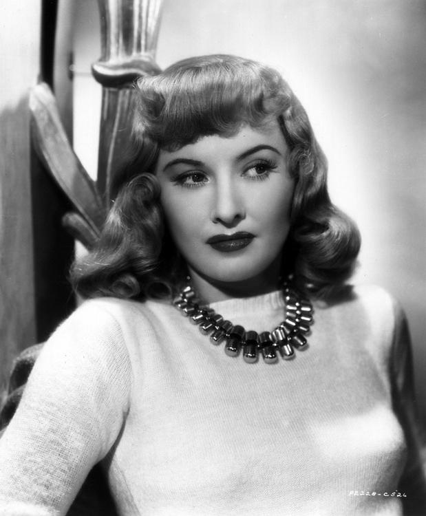 "Barbara Stanwyck by A L ""Whitey"" Schafer"
