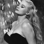 Sylvia (Anita Ekberg) cools off in the Trevi Fountain in Federico Fellini's La Dolce Vita