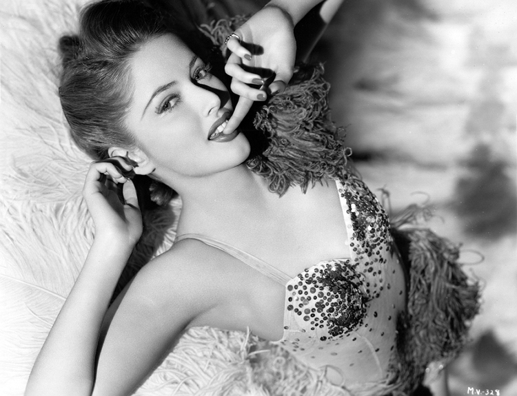 Mischievous Martha Vickers