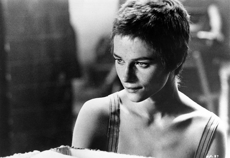 Charlotte Rampling in The Night Porter