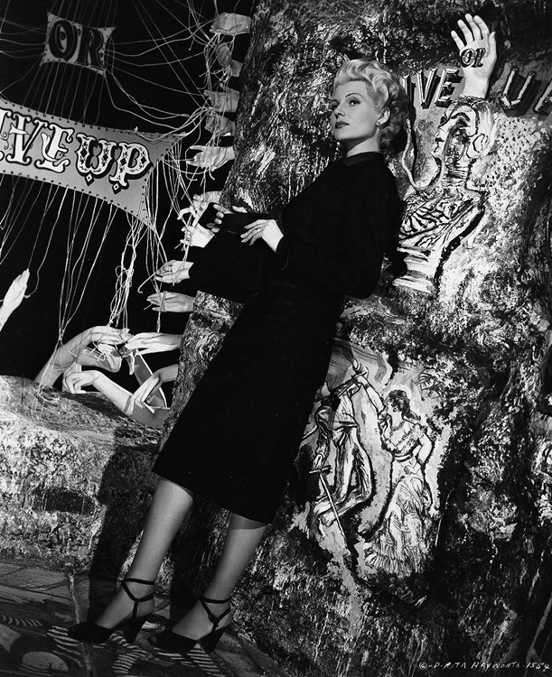Rita Hayworth fashion shot, The Lady from Shanghai
