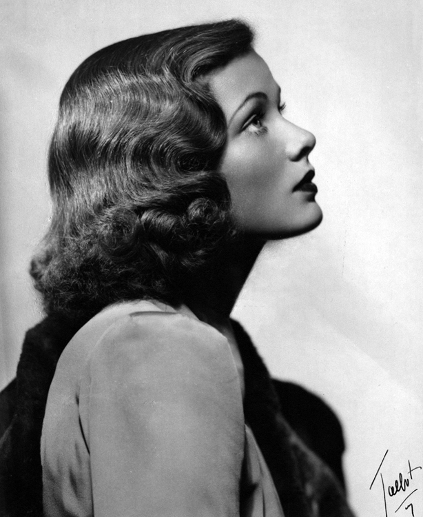 Portrait of Gene Tierney by Talbot.