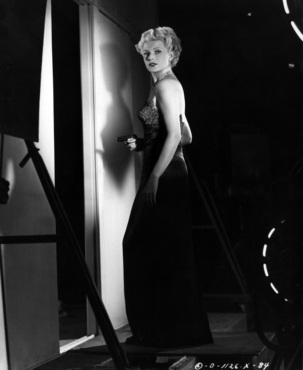 Rita Hayworth, publicity shot for The Lady from Shanghai