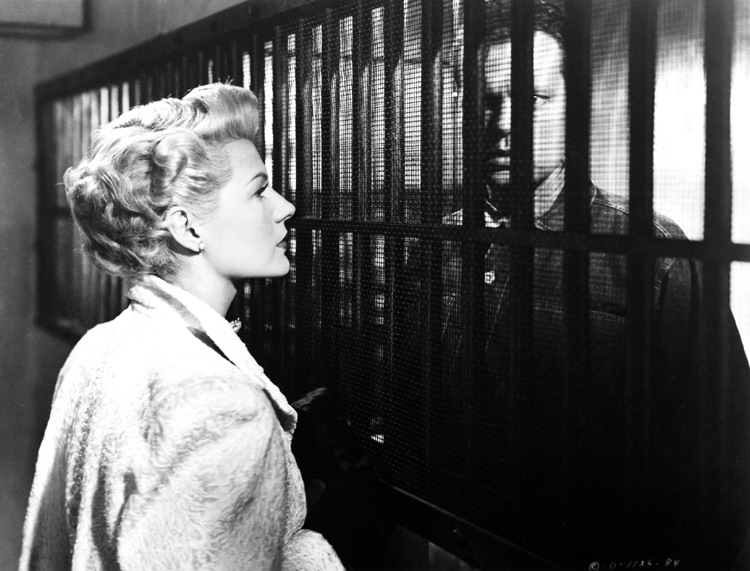 Elsa Bannister visits Michael O'Hara in jail