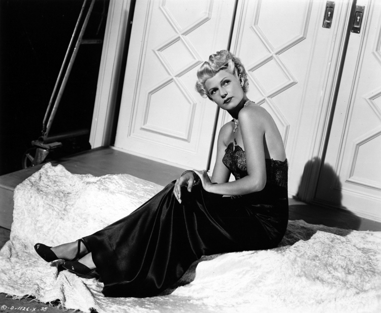 Rita Hayworth as Elsa Bannister in The Lady from Shanghai