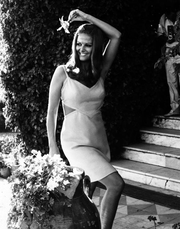 Claudia Cardinale by Elio Sorci