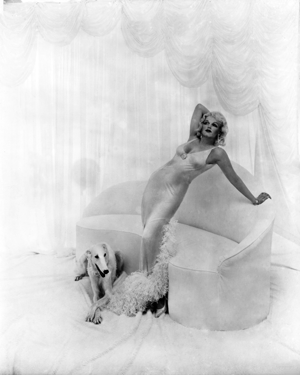 Marilyn Monroe as Jean Harlow by Richard Avedon