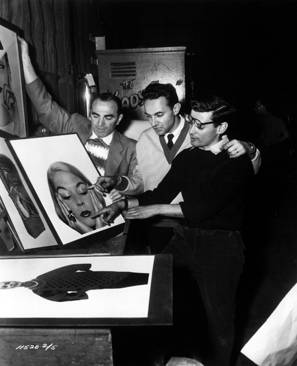 Avedon at work on Funny Face
