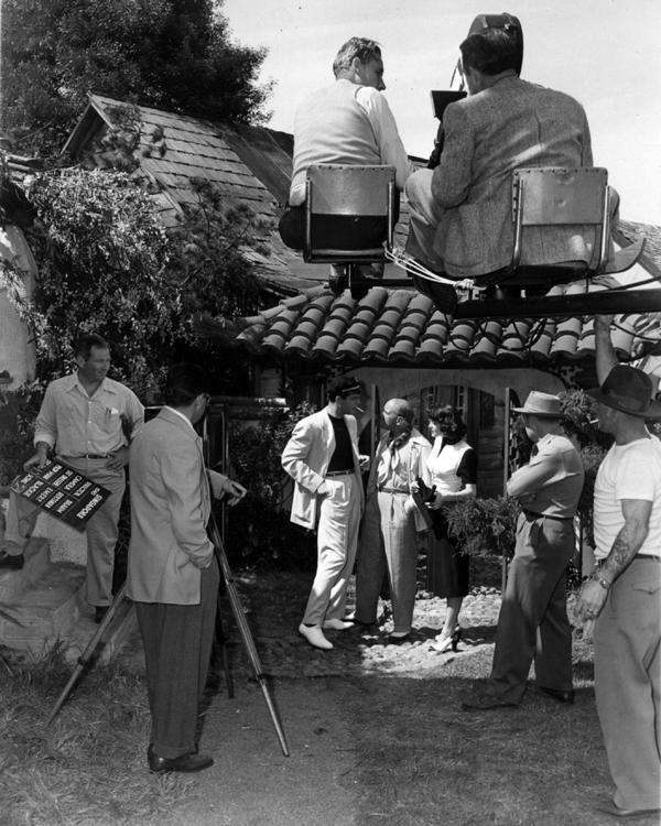 Ava Gardner filming Singapore
