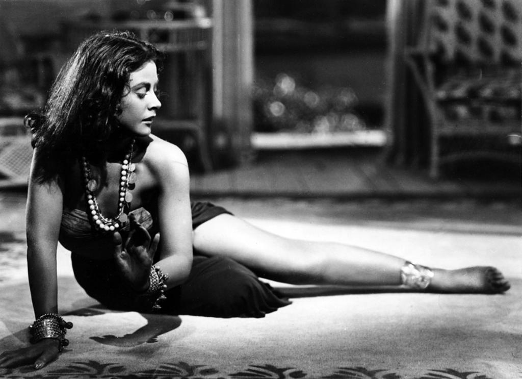 Hedy Lamarr as Tondelayo in White Cargo