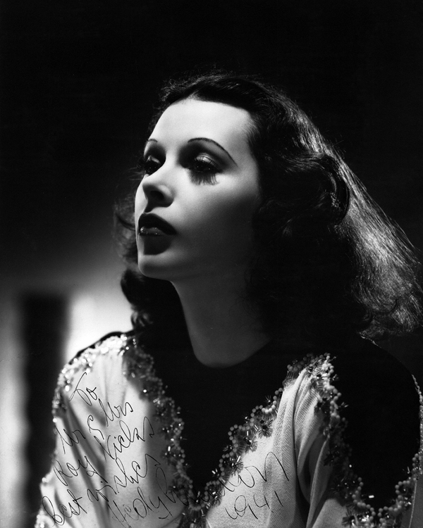 Hedy Lamarr, glamour goddess