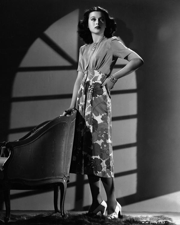 Hedy Lamarr in Algiers