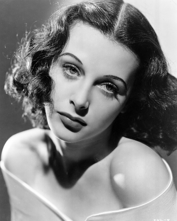 Hedy Lamarr looks sultry