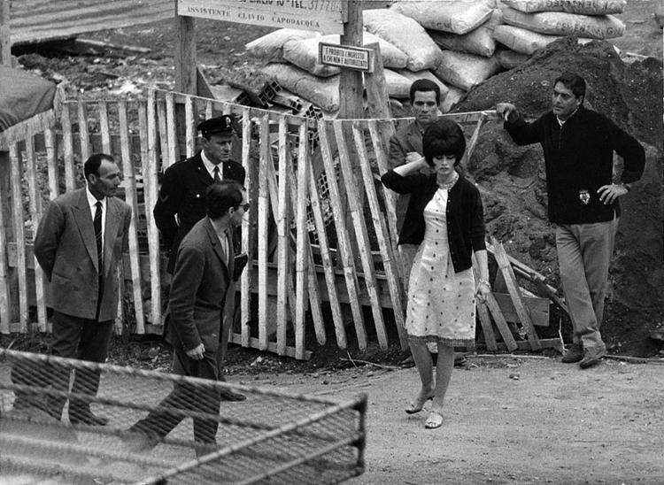 Jean-Luc Godard with Brigitte Bardot