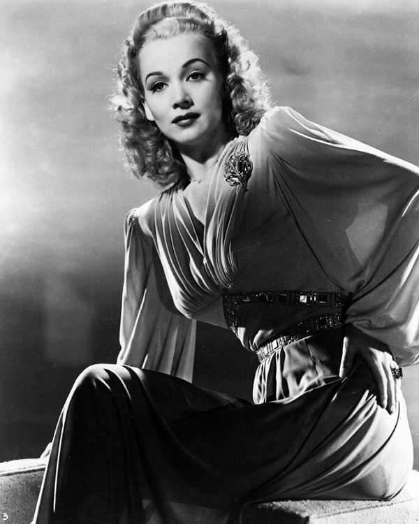 Carole Landis publicity photo for A Lady Says Yes
