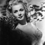 Carole Landis publicity photo for Secret Command