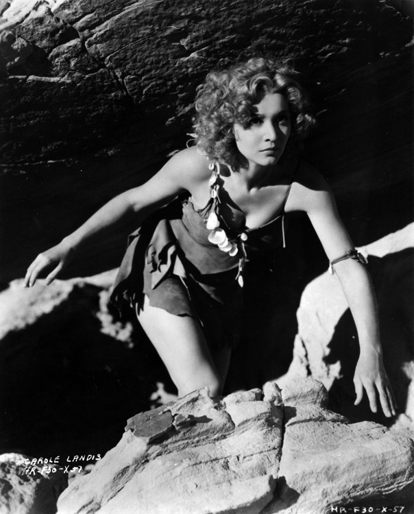 Carole Landis as Loana in One Million B.C.