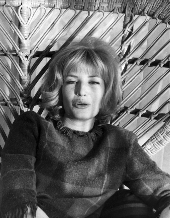 Monica Vitti pouts for the camera