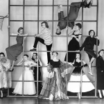 The Young Look in the Theatre by Norman Parkinson