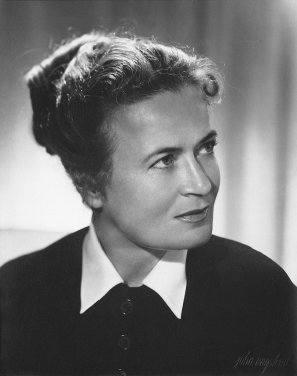 Irene Lentz photographed by John Engstead