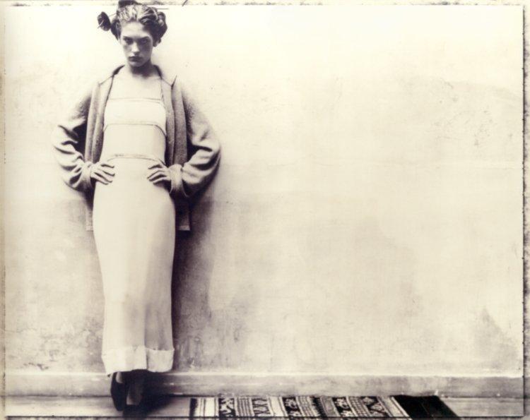 Alberta Ferretti fashion study by Paolo Roversi