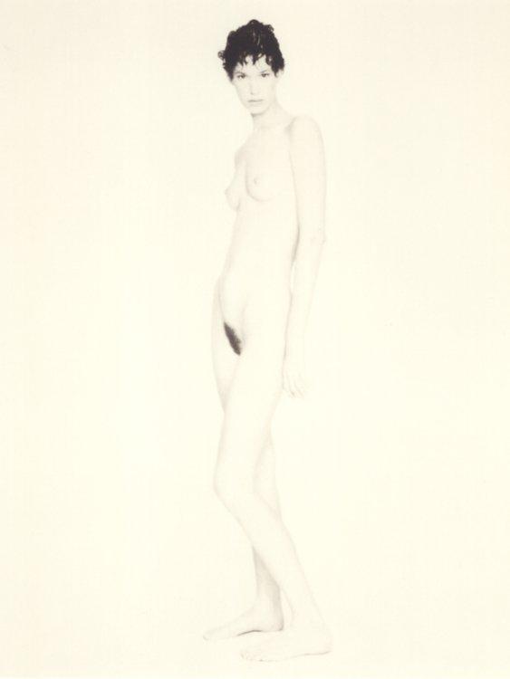 Meg, nude, Paris, 1995
