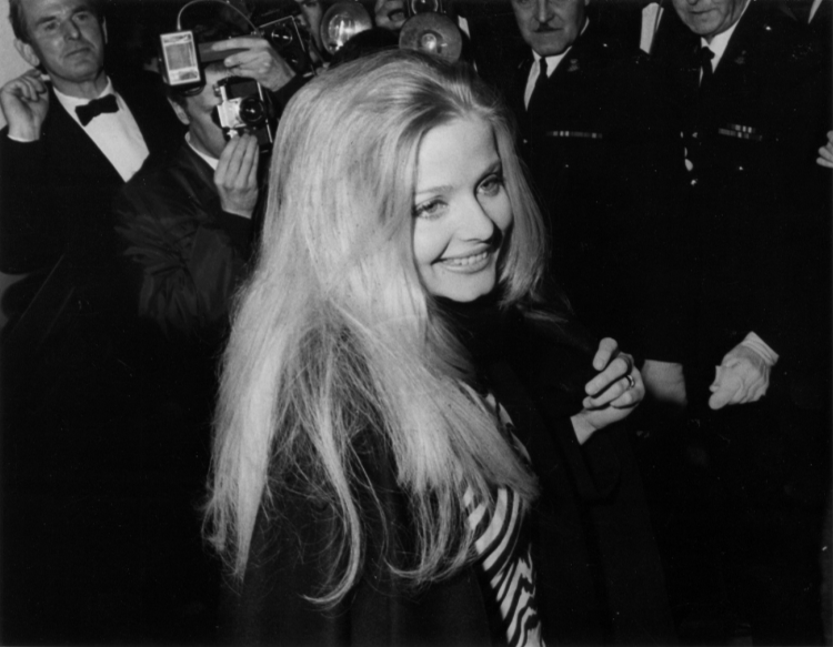 Ewa Aulin at an event